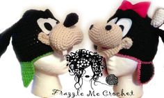 Frazzle Me Crochet URL: https://www.facebook.com/FrazzleMeCrochet PRIZE: 1 winner receives Child SIze Goofy & Clarabelle Cow. Winner must contact vendor with shipping information. FREE U.S. SHIPPING.