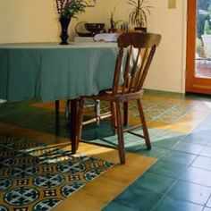 Avente Tile Project: Make an Impact with a Cement Tile Floor Rug
