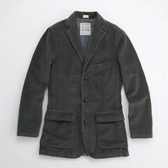 Factory eight-wale cord blazer