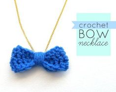 Many Compliments Crochet Necklace - Only a little bit of worsted weight yarn is needed to work up this quick crochet necklace, so it's a great stashbuster pattern to use up leftover yarn.
