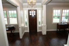 Entry, door, trim