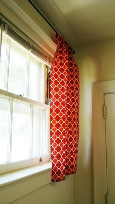 Kitschy curtains for the kitchen