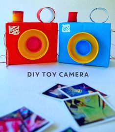 DIY toy camera | at home with ali