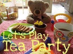 Pretend play tea party ideas