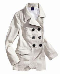 Cute pea coat.