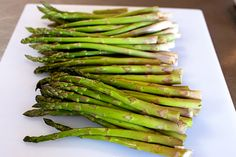 Roasted Asparagus...the ONLY way to cook asparagus, in my opinion. :)