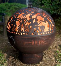 """26"""" Fire Bowl with Fire Dome"""