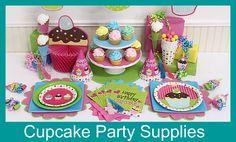 cupcake birthday party!