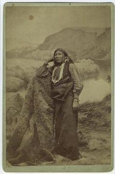 White Eagle - Comanche - circa 1885
