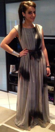 Wedding style Tye & Dye dress