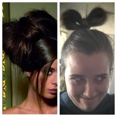Hair bow. Nailed it! ✊