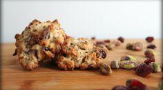 Cranberry-Pistachio Oatmeal-Quinoa Cookies almond, cranberri pistachio, brown sugar, quinoa cooki, cranberrypistachio, cookies, cranberries, oat, dessert