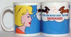 Dachshund Ceramic Coffee Mug