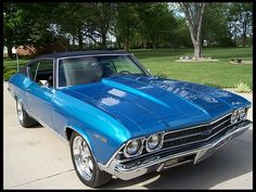 1969 Chevrolet Malibu Coupe  468/600 HP, 4-Speed