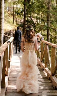 wedding gown wedding gowns wedding dressses, peach weddings, blush weddings, color, dress wedding, the dress, gown, floral designs, bride