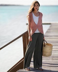 easy linen, by poetry. easi linen, poetri fashion, fashion style, jeans, palazzo trousers, poetry