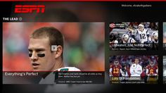 The ESPN app // for Windows 8, offered on desktop and tablet, provides sports fans with all the things they love about ESPN in a single place. Get up- to- the -minute scores, news, and analysis for all your favorite teams, leagues, and players. Access rich, in depth content from the leader in sports. Download the ESPN app for Windows 8 for a deeper sports experience than ever before!