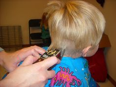 How to Cut Boys' Hair Like a Pro, part 2: Clippers | Heavenly Homemakers