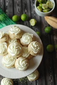 Key Lime Sugar Cookies. You'll love this bite sized key lime treat!