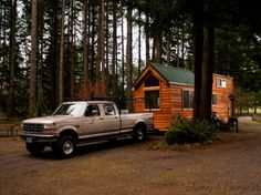 cabin on the road
