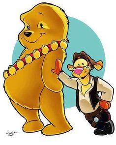 Winnie the Chew...plus Han Tigger too!