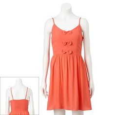 LC Lauren Conrad Bow Crepe Dress - Women's #Kohls