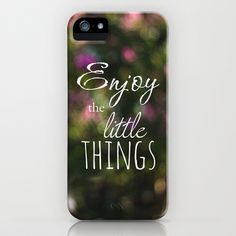 Enjoy iPhone Case by Brandy Coleman Ford -
