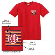 Fraternity Frocket T-Shirt $19.95 #custom #greek #apparel #frocket
