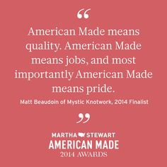 We've just announced another round of American Made Finalists. Find out if you're one of them, and get to know these inspiring makers and entrepreneurs.  #americanmadeawards #makerinspiration
