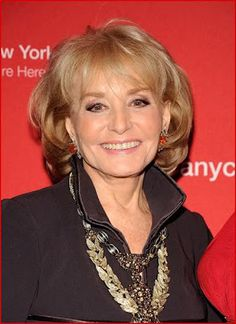 Barbara Walters - Born September 25, 1929!!!!! and still working!!!