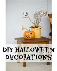 DIY Halloween Decorations. #DIY #Halloween #decorations