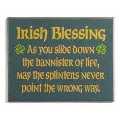 Funny Irish Blessing