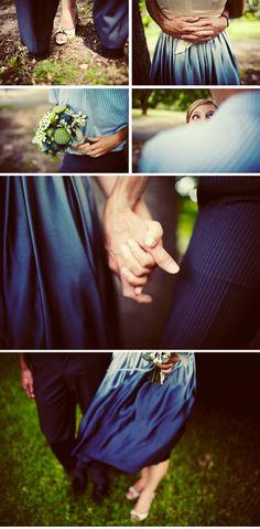love: beautiful blue wedding