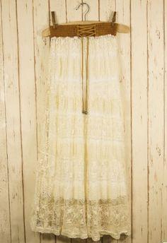 #Chicwish  Crochet Wish Skirt