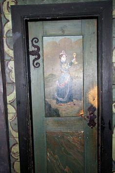 Painted Door ~ Norway