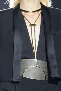 Lanvin SS 2013  MMmmmm!!!! lanvin ss, fashion, style, accessori, lanvin detail, belt, spring 2013, lanvin spring, jewelri