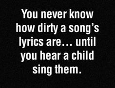 Truth about song lyrics