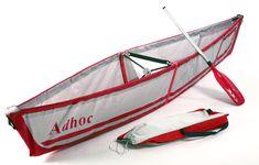 ori levin: adhoc folding canoe