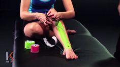 KT Tape: Shin Splints, via YouTube.