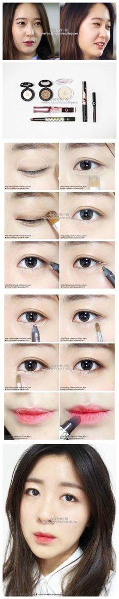 Korean makeup eyes