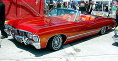 1967 Chevy Impala Convertible Picture