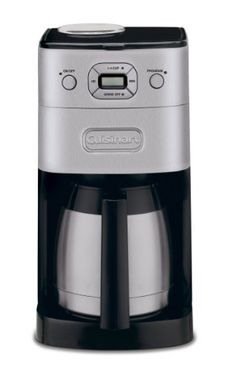 Black Friday 2014 Cuisinart DGB-650BC Grind-and-Brew Thermal 10-Cup Automatic Coffeemaker, Brushed Metal from Cuisinart Cyber Monday