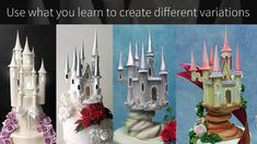 Zucchero Fairytale Castle Topper - Yeners Way Cake Decorating Tutorial