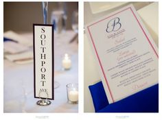 Chicago Streets Table Numbers. Fuschia and Colbat Menus.  Blackstone Hotel Wedding. Deonna Caruso Photography. Sweetchic Events.