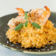 coconut curry risotto entree