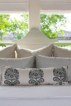 pillow patterns, diy bolster pillow, cottage look, diy headboards, casual master bedroom