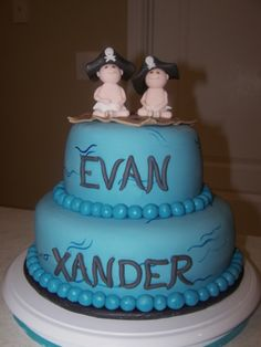 baby shower cakes, twin shower, leah shower, twin babies, kim shower, babi shower, baby showers
