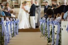 Aisle marker #weddingceremony