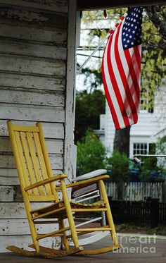 My all American porch  for May 25 2013