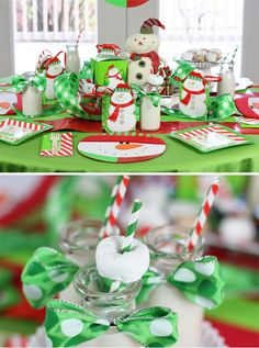 Snowmen & Donuts Christmas Breakfast Table + #Party Tips! #holidayentertaining #holiday #MichaelsStores